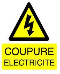 COUPURE ELECTRICITE : jeudi 30 septembre