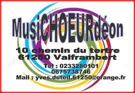 REPRISE DES ACTIVITES DE LA CHORALE MUSICHOEURDEON le MARDI 5 OCTOBRE 2021.